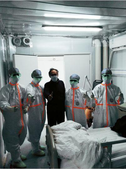 首战告捷!大连医疗队负责救治的雷神山医院首批治愈患者出院