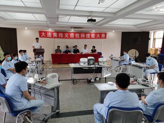 辛寨子街道总工会举办技师技能大赛