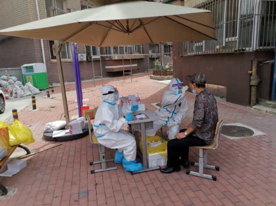 全员核检后望海社区防疫工作仍未松懈