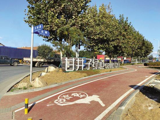 9.8公里体育大道竣工 市民健身又添好去处