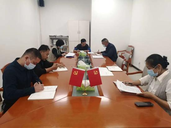 区红十字会开展2020年中秋国庆双节前夕警示教育