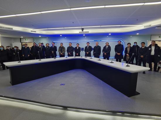 旅顺口区华录(大连)数据湖产业园开工暨入园项目签约仪式成功