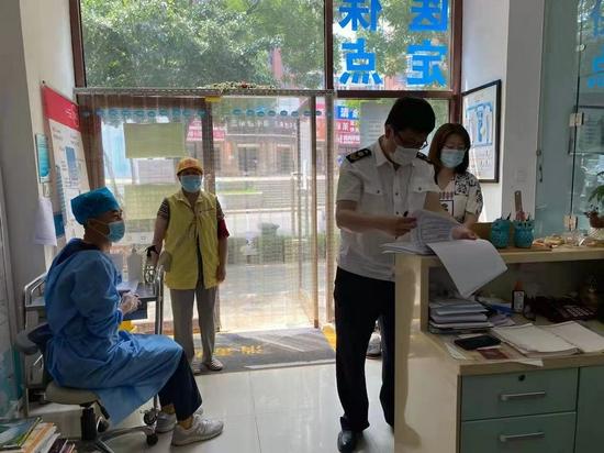 辛寨子街道确保基层医疗机构疫情防控工作落实到位