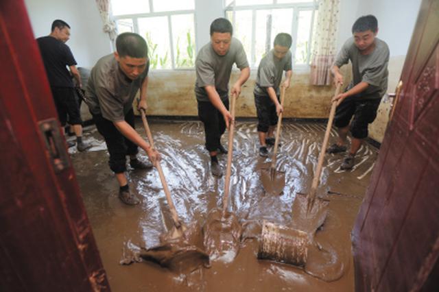 庄河灾后重建工作正稳步进行