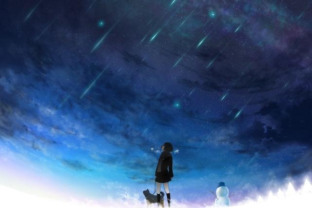 周六晚上将出现流星雨