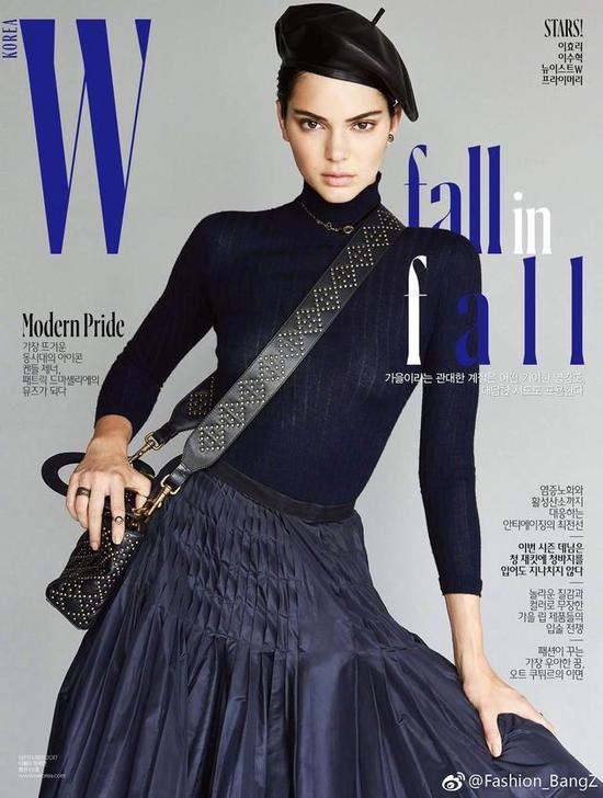 """韩国版""""W Magazine""""九月刊"""