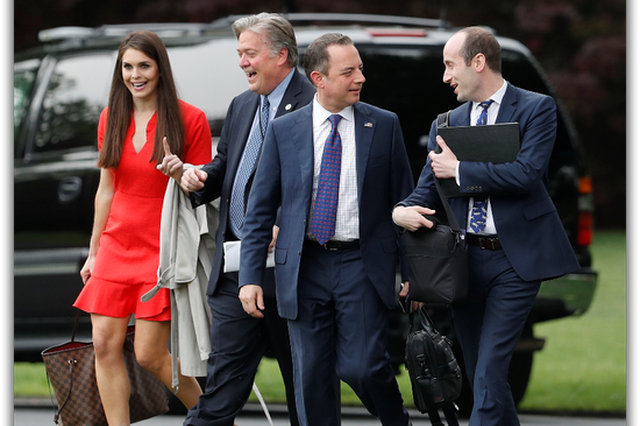白宫提名28岁前模特儿希克斯任临时联络室主任