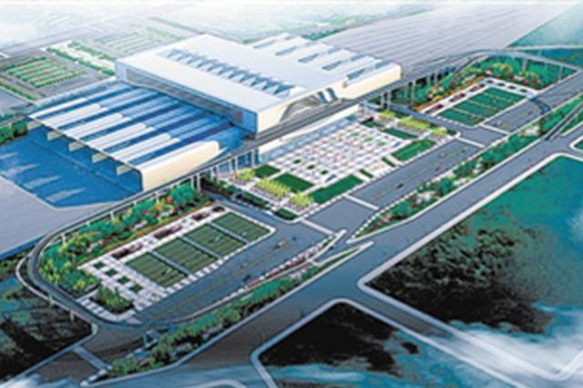 大连北站综合交通枢纽10月建设