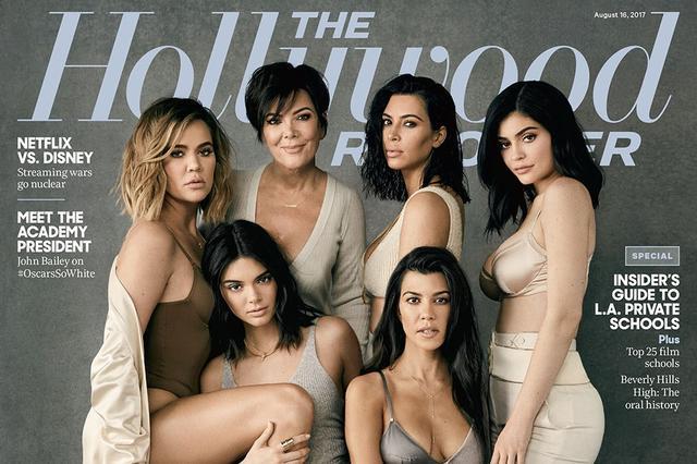 卡戴珊家族合体拍片 六个女人上演一场香艳大戏