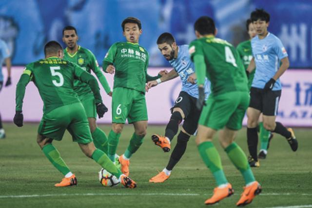 大连一方主场0:3不敌北京国安