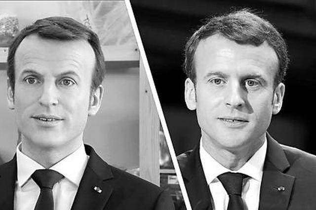"""法国叫停""""僵尸马克龙""""蜡像"""