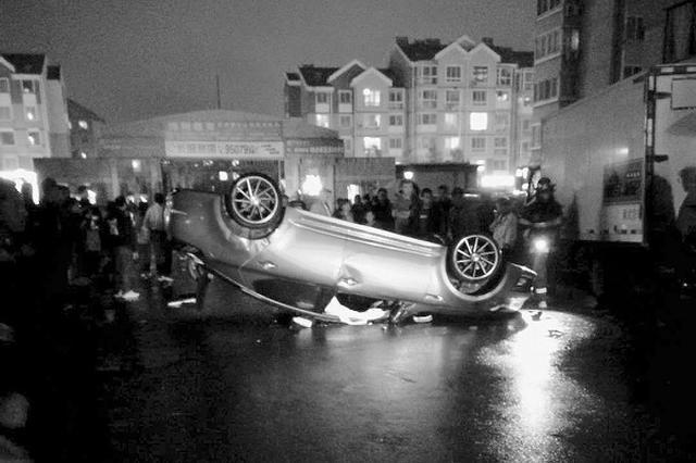 被困司机获救后竟趁乱离开