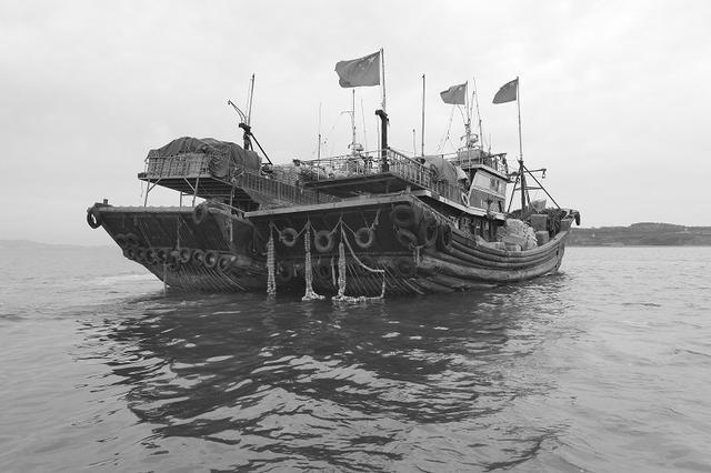 葫芦岛两艘渔船来连偷捕被查扣