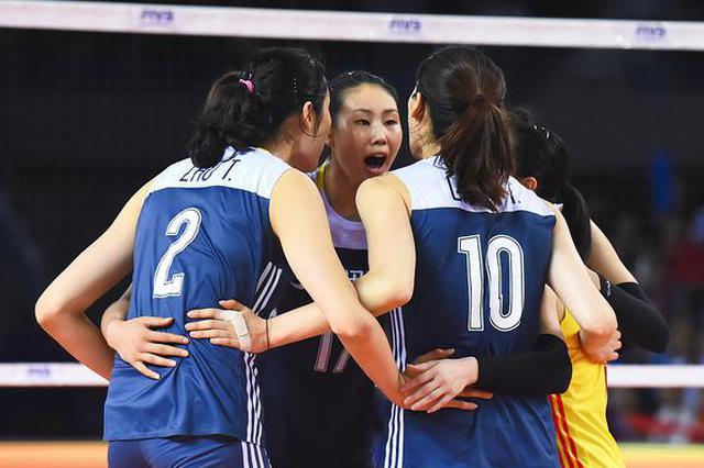 中国女排0-3美国 朱婷斩获14分 世联江门一胜两负收官