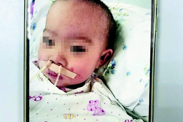 16个月大女婴患病向社会求助 挺过危险期