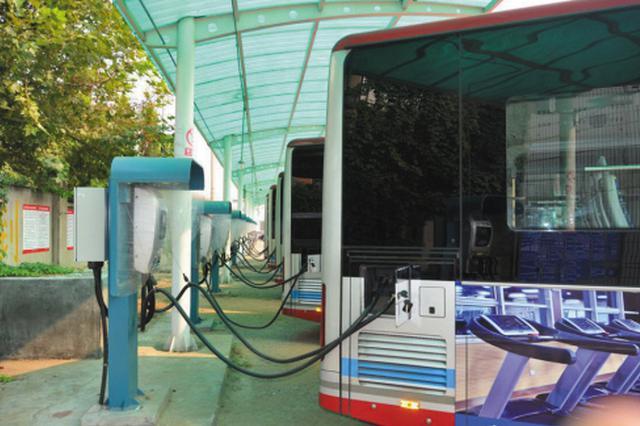 大连绿色能源车公交线路超80%
