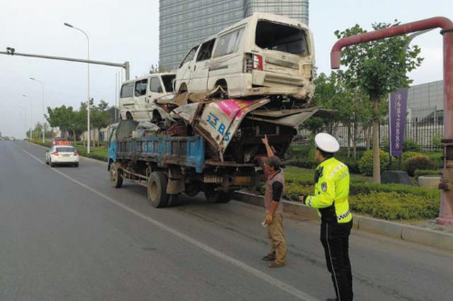 大货车半年多违法3万起