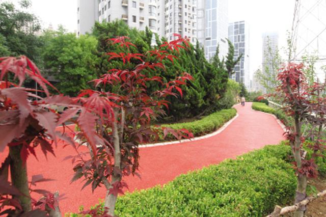 马栏河运动公园初具规模 十月建成开园