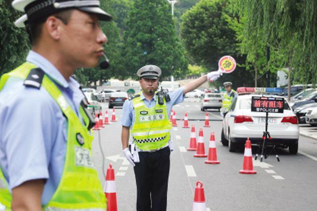 市交警部门开展规范执法练兵比武竞赛