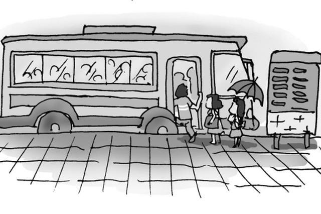 公交集团多条线路增加配车