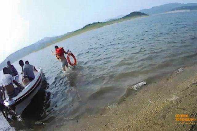 警民联合营救 野浴男子仍不幸溺亡