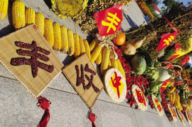 大连市农民喜庆首个农民丰收节
