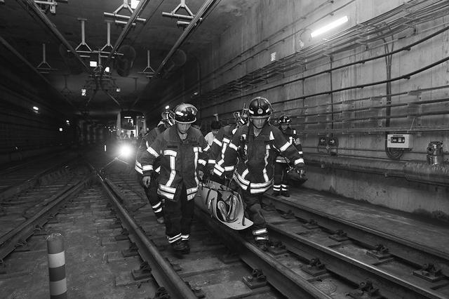 大连地铁应急救援演练创规模