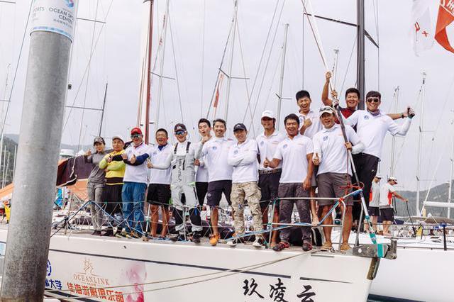 大连佳海-海事大学联队成功卫冕中国杯帆船赛冠军