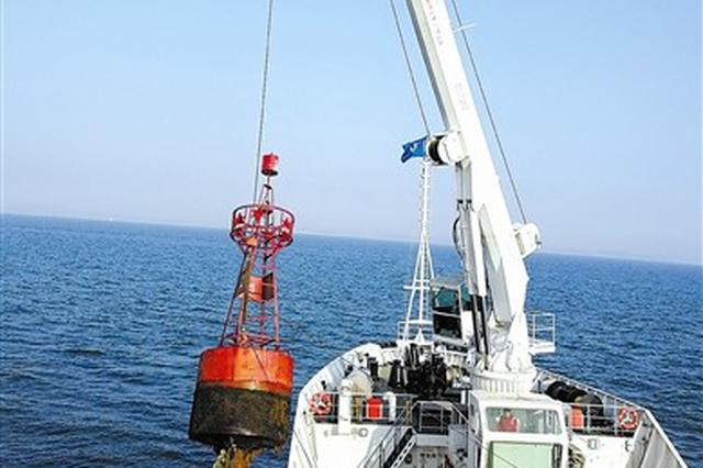 大连海域冬季浮标更换工作全面启动