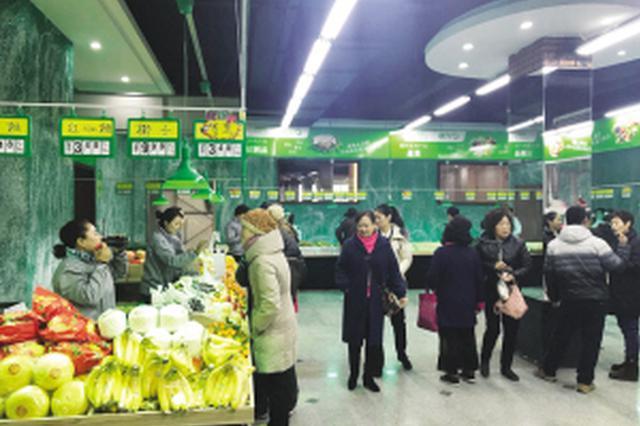 大连市蔬菜直通车全力保障冬季运营