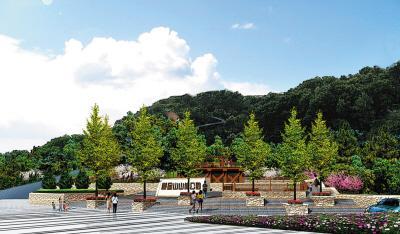 椒金山山体公园(三期)竣工 惠及周边10万居民