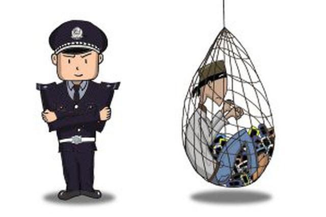 警方开展打击扒窃大巡逻行动