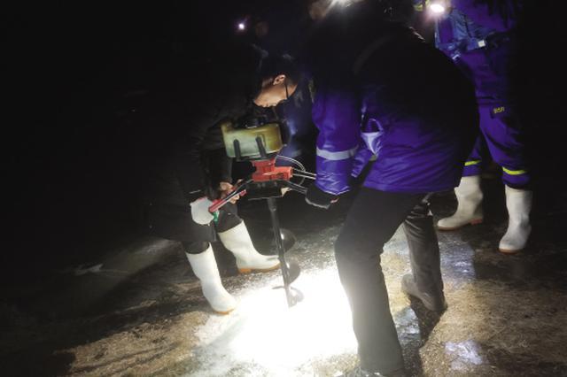金普新区走失仨月的9旬老人在冰河里找到尸体