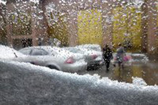 大连迎久违降雪 下周天气开始回暖