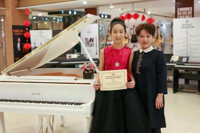 大连六年级女生9个月获7项荣誉 大赛归来再出发
