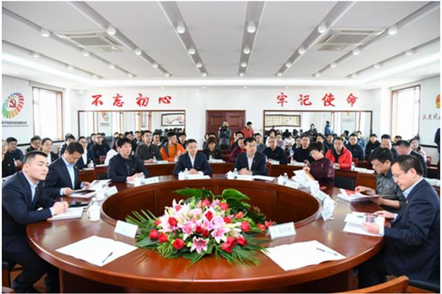 辛寨子街道党工委与浦发银行虹港支行党支部签署党建共建协议