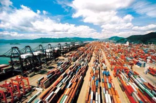 今年一季度大连市进出口总值增长3%