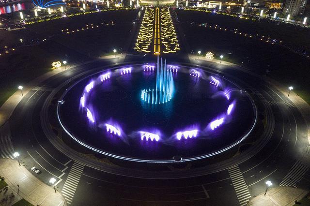 星海广场音乐喷泉10日起停止开放