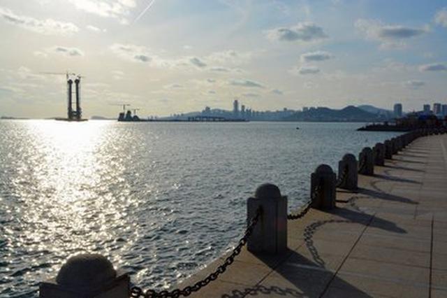 星海湾大桥有望开通公交车
