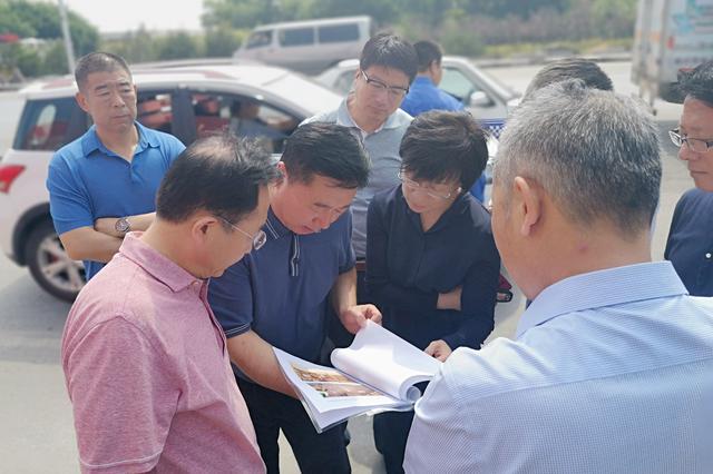 区委主要领导带队督导辛寨子街道文明城市创建工作