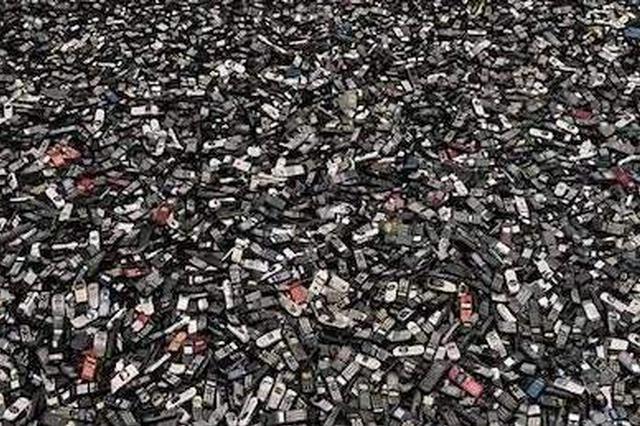 大窑湾海关查获66吨固体废物