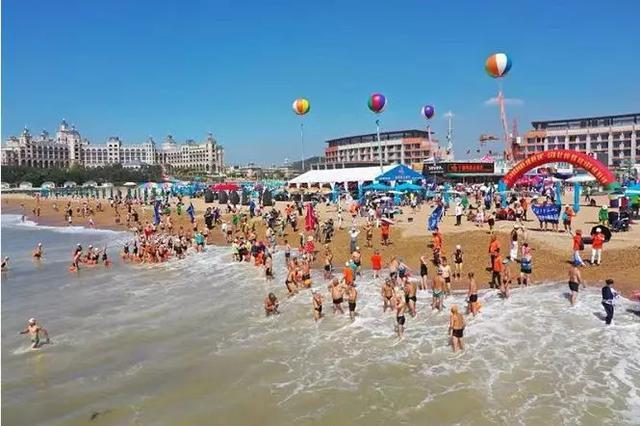 千人齐聚金石滩黄金海岸 共享海上盛会