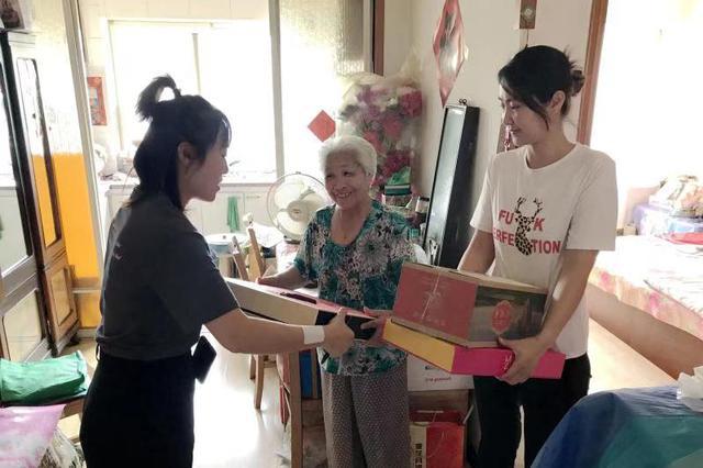 辛寨子街道:中秋佳节送祝福 帮扶慰问暖人心