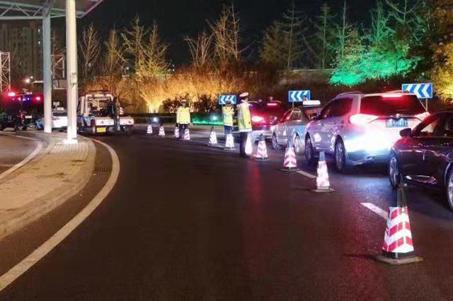 交警和多部门联勤四天共出动警力6000余人次 严查各类交通违法