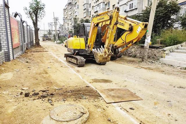 10月15日起解放广场立交桥部分路段封闭施工
