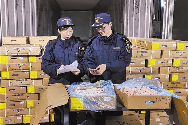 今年以来大连海关检出不合格食品41批次