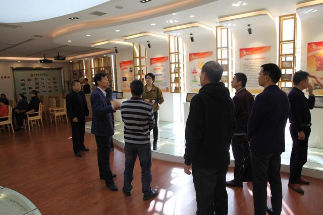 广东省清远市委政研室赴辛寨子街道参观调研新型城市化工作