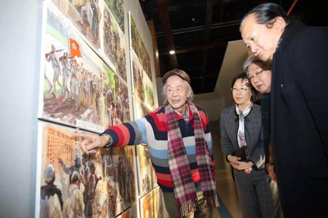 第六届全国架上连环画展在金石滩文化博览广场盛大开幕