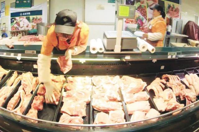 春节期间大连惠民储备肉继续投放