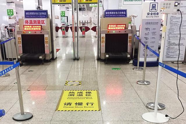 大连地铁车站全部安装热成像体温测试仪